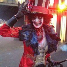 #frightening #clowns @JJtheKlaun #clown #klown #klaun #carnival #circus #ringmaster #creepyclown #creepy #scaryclown #jjtheklaun