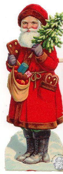 Weihnachtsmänner, Glanzbilder