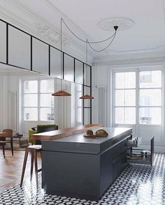 2 verschiedene Bodenbeläge in einem Zimmer? Wie toll das aussehen kann zeigen…