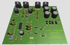 Subwoofer Home Theater Amplifier circuit is designed for subwoofer speaker system that used on Subwoofer Home Theater system.Using IC as a based filtering subwoofer signal input and as a buffer it& power amplifier Home Theater Amplifier, Home Theater Subwoofer, Home Theater Speakers, Home Theater Projectors, Diy Subwoofer, Subwoofer Speaker, Powered Subwoofer, Home Theater Setup, Best Home Theater