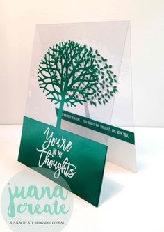 Juana Ambida   Thoughtful Branches   Crazy Crafters Blog Hop. #Thoughtfulbranches, #Stampinup, #Handmadecards,…