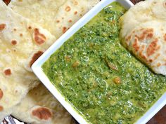 indian style creamed spinach - Budget Bytes  http://www.budgetbytes.com/2012/03/indian-style-creamed-spinach/