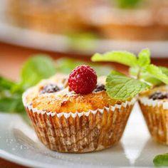 Deliciosos Muffins de Framboesas