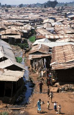 Kibera slums in Kenya. I worked in the clinic here one day while in Kenya. Out Of Africa, East Africa, Oh The Places You'll Go, Places To Visit, Kenya Nairobi, Thinking Day, Africa Travel, Kenya Travel, Slums