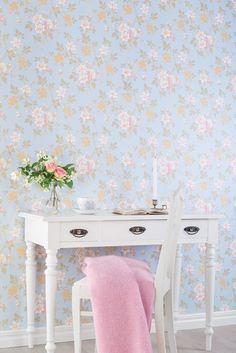 Wallpaper `Ester Marias kammare´ - design by Ernst Kirchsteiger - durosweden.se