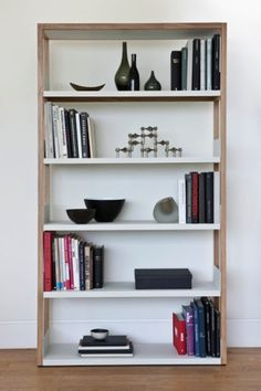 An iconic Australian designer and maker of modern furniture with simple, clean, minimalist style. Contemporary Furniture, White Bookcase, Bookshelves, Furniture, Interior, Storage, Modular Storage, Shelving, Home Decor