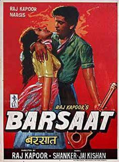 Barsaat Raj Kapoor Poster