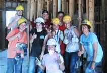 Students travel to New Orleans for two weeks to assist with Hurricane Katrina recovery efforts.