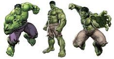PNG Download: Pacote com 24 Imagens do Hulk em PNG (com Fundo transparente) em Alta Definição