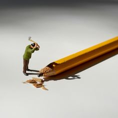 Artist Creates Playful, Imaginative Scenes Using Toy Figures & Stationery - DesignTAXI.com