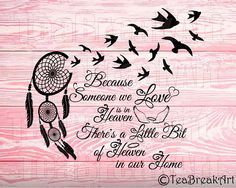Because someone we love is in heaven there's a little bit of heaven in our home Monogram Cutting File iron on heat transfer vinyl decal Remembrance Tattoos, Memorial Tattoos, In Loving Memory Tattoos, Heaven Tattoos, Daddy Tattoos, Fathers Day Cake, Silence Quotes, Heaven Quotes, Cross Wreath
