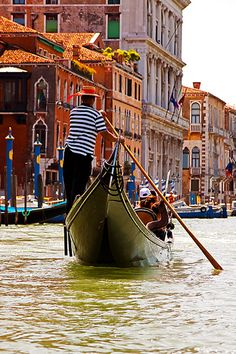 Venice - I would love to go on a Gondola ride through Venice. Soaking up the rich history and architecture of the beautiful buildings. Then spend my evenings enjoying the rich tastes of wine and food in Italy.