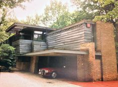 Frank Lloyd Wright | Lloyd Lewis Home | Libertyville, Illinois