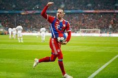 Bayern Munich thấp thỏm lo lắng về chấn thương của Riberty