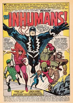 perpetual-loser: Some Kirby goodness. From Amazing Adventures by Stan Lee and Jack Kirby. Marvel Comics, Marvel E Dc, Marvel Comic Books, Comic Book Heroes, Comic Books Art, Marvel Heroes, Marvel Universe, Inhumans Comics, Marvel Creator