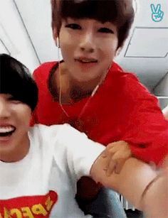 Taehyung and Jhope