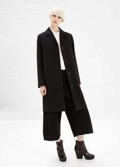 totokaelo - won hundred black imogen coat
