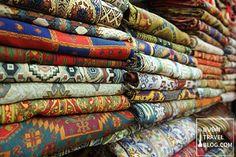 Textile Souk in Bur Dubai - Deira Creek Side