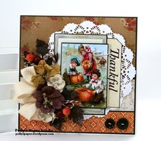 Festive Fall Deluxe Creativity Kit with Projects Thanksgiving Greeting Cards, Fall Cards, Thanks Greetings, Holiday Images, Thankful, Crafty, Paper, Creative, Projects