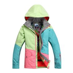 7125957be7 2017 Promotion New Winter Female Snowboard Jackets Woman Ski Coat And Suit  Snow Wear Jacket Sportswear
