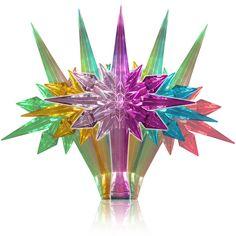 Stunning color change LED tree topper!