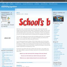 how to set up an edublogs
