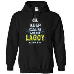 Cool (KeepCalmNew) Keep Calm And Let LAGOY Handle It Shirts & Tees