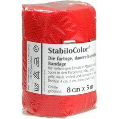 BORT StabiloColor Binde 8cm rot:   Packungsinhalt: 1 St Binden PZN: 08831019 Hersteller: Bort GmbH Preis: 4,15 EUR inkl. 19 % MwSt. zzgl.…