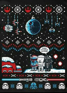 Star Wars Christmas Sweater iPhone 6 / 6 Plus wallpaper