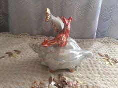 Статуэтка фарфоровая рыбка на ракушке, Дулёво 60 гг. -1000 руб.