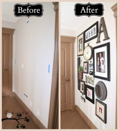 From LookieWhatIDid: Tips for creating a picture gallery wall.