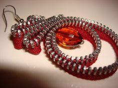 Silvia Mazzoli: Zipper Earring