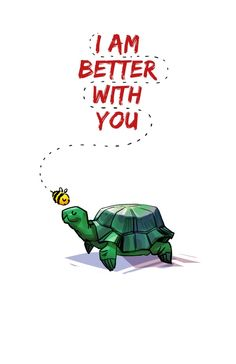 I Am Better With You [Elementary CBS] Art Print I LOVE THIS