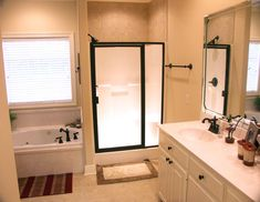 Cool new bathroom photo from one of our clients that just built our plan HDC-1955B-1 from http://www.homedesigncentral.com/detail.php?planid=HDC-1955B-1#.