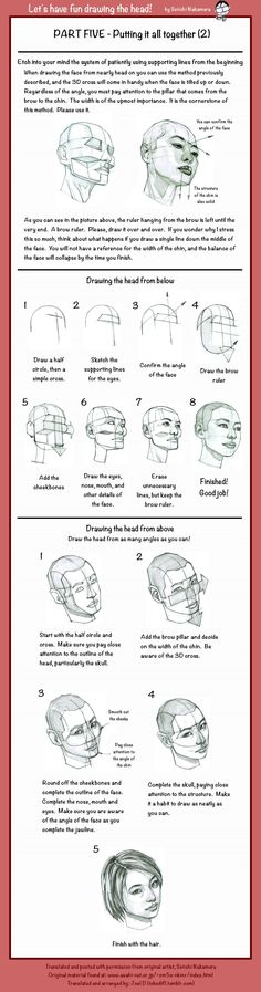 Drawing the Head: Pt 5 (2) by tobediff.deviantart.com on @DeviantArt