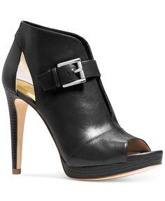 MICHAEL Michael Kors Isabella Platform Booties - Boots - Shoes - Macy's