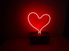 a handmade neon lamp for your home
