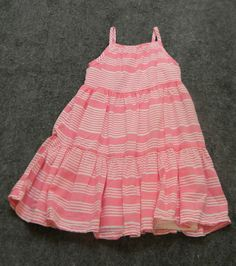 Old navy pink and white dress