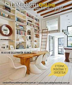 1000 images about silla panton eterna moderna y for Mueblerias on line