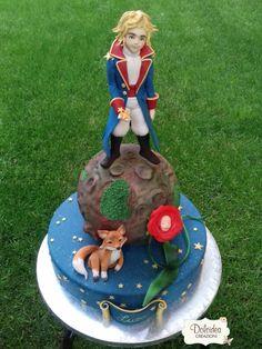 Il Piccolo Principe - The little prince - Gâteau Le Petit Prince - Cake by Dolcideacreazioni