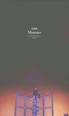 Exo_Monster_Wallpaper Kyungsoo, Chanyeol, Exo Monster, Kpop Backgrounds, K Wallpaper, Berlin, Exo Do, Do Kyung Soo, Fandom
