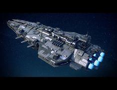 Space Ship Concept Art, Concept Ships, Star Wars Spaceships, Sci Fi Spaceships, Spaceship Art, Spaceship Design, Star Wars Desenho, Nave Star Wars, Starship Concept