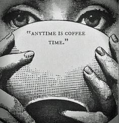 Anytime is coffee time. #coffee Alice in Wonderland