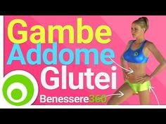 Gambe, Addominali e Glutei: Allenamento GAG, esercizi per dimagrire e tonificare a casa - YouTube