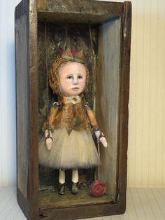 Aggie OOAK Art Doll/Marionette by SusanHopkirkFolkArt on Etsy