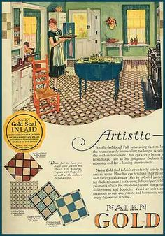 Vintage 1920s Kitchen Advertisements - #vintage #advertising #ads #kitchen #home #decor #illustration
