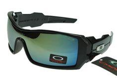 Oakley Oil Rig 2 Sunglasses Black Frame Lightskyblue Lens