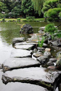 清澄庭園(東京)Kiyosumi Garden, Tokyo, Japan