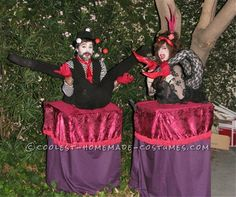 Cool Halloween Illusion Costumes: The Contortionists… Coolest Halloween Costume Contest