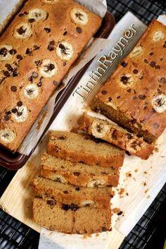 Cake Pisang Gula Palem chocochips kismis super Moist+lembutttt ^^